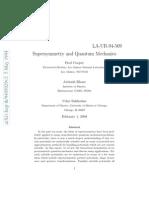 Super Symmetry and Quantum Mechanics