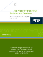Flash Project Process Slides