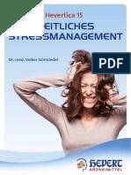 Bibliotheca Hevertica 15 - Ganzheitliches Stressmanagement