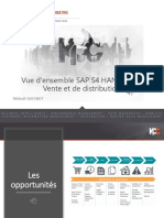 Synthèse SAP 4 HANA KPC Retail_Ventes Et Transport V5
