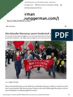 Wie Kultureller Marxismus Unsere Gesellschaft Untergräbt - Young German