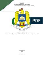 Ghidul Candidatului La Admiterea În Scolile Militare de Maistri Militari Şi Subofiteri