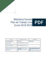 Plan Biblioteca 1819