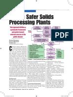 Design Safer Solids Plants