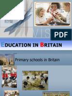 Education in Britain
