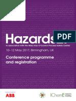 Hazards27 Programme Brochure Revised