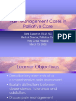 Pain Management Cases