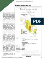 Época Del Terrorismo en Perú - Wikipedia, La Enciclopedia Libre