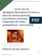 APLIC DECORATIVOS EPOXICOS