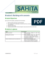 Module 8 SAHITA Concrete