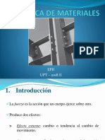 (1) Introducción a La Mecánica de Materiales