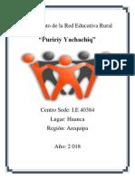 Reglamento Interno de La Red Educativa Huanca (1)