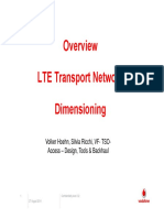 LTE Design Requirements - Coexistence With WIMI, DVB-C, DVB-T