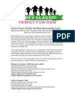 corey classic family fun run sponsorship letter k