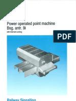 Siemens 3 Phase Point Machine