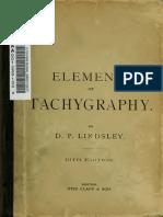 Elements of Tachygraphy - Dewey's Shorthand