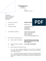 RTI Application Form