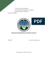 Fraude en procesamiento electrónico de datos
