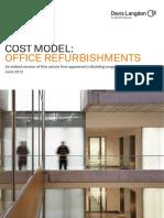 Davis Langdon Cost Models