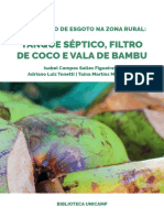 Tanque Séptico e Filtro Anaeróbio UNICAMP