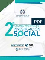 Segundo Concurso de Investigación Social