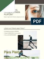 Quién Es El Filósofo Para Platón