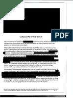 Rapport de la PPO