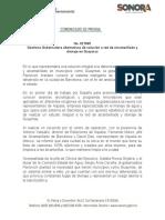 15-02-2019 Gestiona Gobernadora alternativas de solución a red de alcantarillado y drenaje en Guaymas