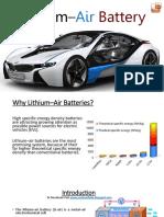 Lithium–Air Battery