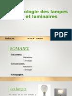 Typologie Des Lampes Et Luminaires