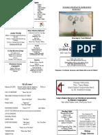 St Andrews Bulletin 022419