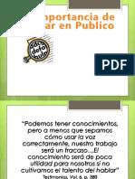 2 La Importancia de Hablar en Publico.ppt