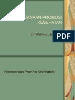 PERENCANAAN PROMKES