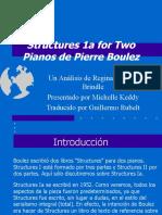 Análisis de Structures 1a de Pierre Boulez (presentación)