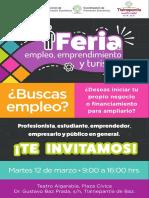 Feria de Empleo, Emprendimiento y Turismo Tlalnepantla 2019