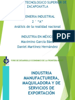 Industria en Mexico