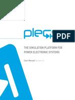 Manual de usuario PLECSIM 4.2
