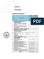 Maya Curricular para curso de codigo procesal penal