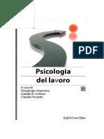 Piergirgio Argentero, Claudio G. Cortese, Clauda Piccardo - Psicologia Del Lavoro-Raffaello Cortina (2008)