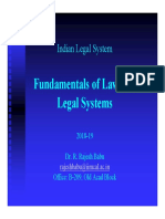 01 Indian Legal System 2018