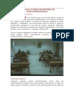 Protocolo Para Un Sistema de Videoconferencia