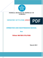 Operation and Maintenance Manual for Urban Water Utilities.pdf