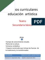 Diseños Curriculares de Teatro en La Secundaria Básica[1] Presentacion en Power Point