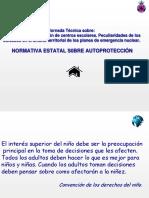 NORMATIVA ESTATAL AUTOPROTECCION