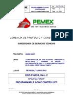 ESP-P-6730 Espec Progammable Logic Controler