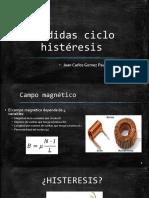 Pérdidas Magnéticas Por Efecto de Histéresis