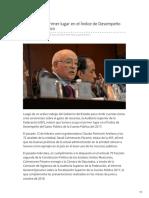 21-02-2019 - ASF Sonora primer lugar en el Índice de Desempeño del Gasto Público - Milenio.com