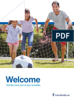 Health Plan Welcome Brochure
