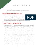 3.5. EscenariosDestinoColombia