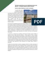 DESPOJO AL TERRITORIO ANCESTRAL DE LOS INDÍGENAS WAYUU DE MAYAPO (Manaure - La Guajira), Debido a planes turísticos